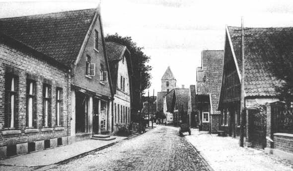heimatarchiv Alte Straßen und Ortsansichten